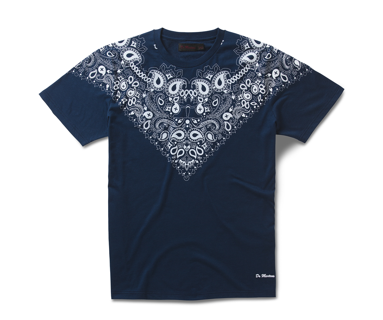 short sleeve bandana t shirt women 39 s clothing official. Black Bedroom Furniture Sets. Home Design Ideas