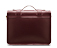 "15"" Leather satchel CHERRY RED AB004612"