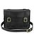 "11"" Leather satchel BLACK AB005002"