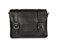 "11"" Leather satchel BLACK AB005008"