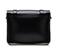 "11"" Leather satchel BLACK AB005013"