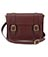 "11"" Leather satchel CHERRY RED AB005601"