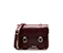 "7"" Leather Satchel CHERRY RED AB017603"
