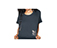 STENCIL PRINT  T-SHIRT DRESS  STENCIL PRINT + BLACK AC427001