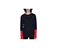 UNISEX CUFF BLOCK JUMPER BLACK+RED AC432001