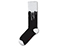 Drip Fashion Sock BLACK + WHITE AC524002