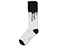 Drip Fashion Sock WHITE+BLACK AC524101