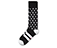 Cross Fashion Sock BLACK + WHITE AC525002