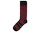 Cross Fashion Sock OXBLOOD+BLACK AC525601