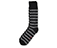 Twisted Yarn Stipe Socks BLACK+GREY AC526001
