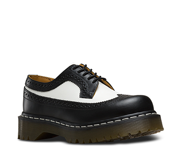 3989 BROGUE SHOE BEX 34 F WT BLACK & WHITE 10458001
