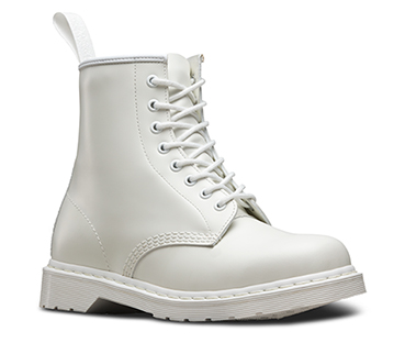 Womens boots official dr martens store 1460 mono black 14353001 1460 mono white 14357100 mightylinksfo Image collections