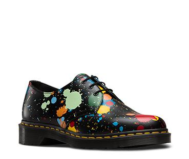 1461 Paint Splatter Shoe
