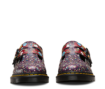 8065 Floral Clash Mary Jane