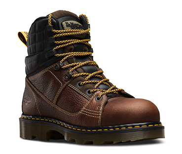 Dr.Martens Holkham Steel Toe Hiker, Gaucho, 5 UK / 7 M US Mujer / 6 M US Masculino