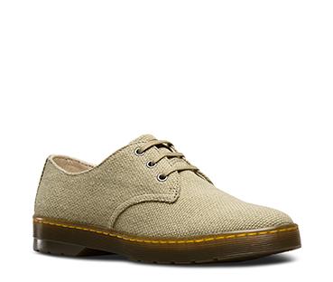 Dr.Martens - Delray - Chaussures en toile épaisse à 3 oeillets - NoirDr. Martens fdR3IWh