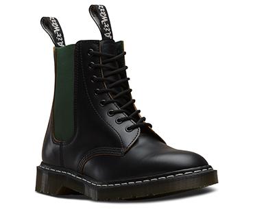 1460 8 ホールブーツ BLACK