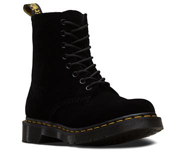 ベルベット 1460 8ホールブーツ ブラック