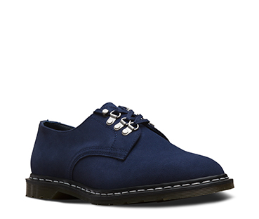 PLYMOUTH OFFICER SHOE NAVY