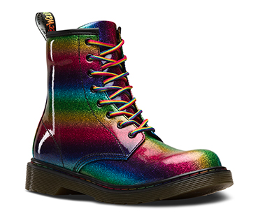 Dr. Martens Youth 1460 Ombre Glitter