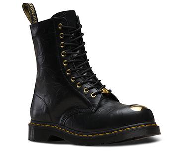 BAPE® 1490 スチールトゥ 10ホール ブーツ ブラック