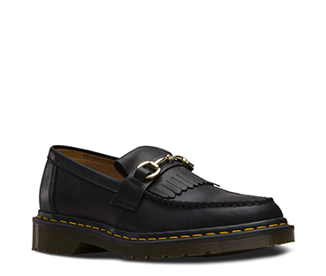 Dr. Martens X United Arrows Snaffle Loafer Black Luxor