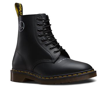 UNDERCOVER 1460 8 ホール ブーツ ブラック