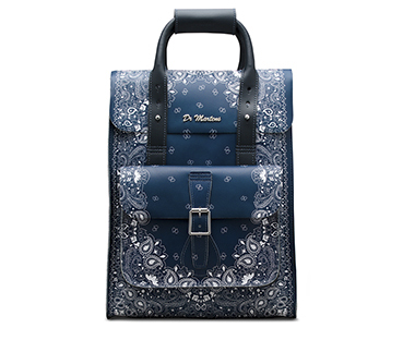 Bandana Leather Backpack