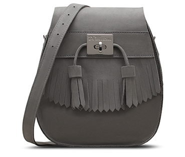 Tassled Saddle Bag GREY AB021020