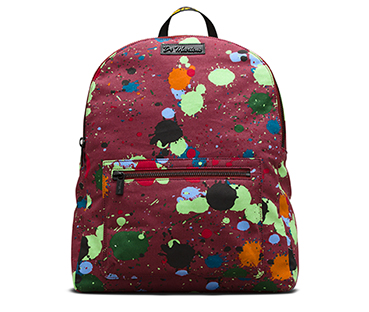 Splatter Canvas Backpack