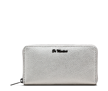 Metallic Women's Zip Purse