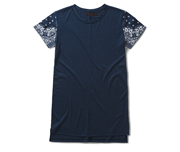 Short Sleeve T-Shirt in Bandana Print