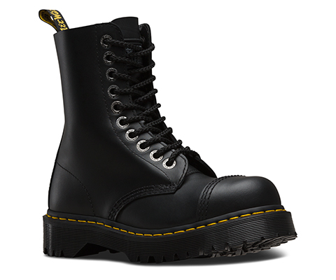 Discount Sale Dr Martens Para Boots Mens Pebble Black Online Store