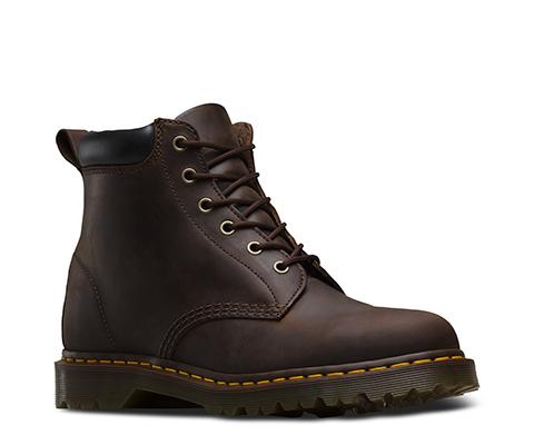 939 Ben Boot Greasy, Boots mixte adulte - Noir (Black Greasy), 36 EU (3 UK)Dr. Martens