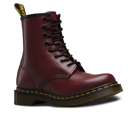 Red Shoe Laces Doc Martens