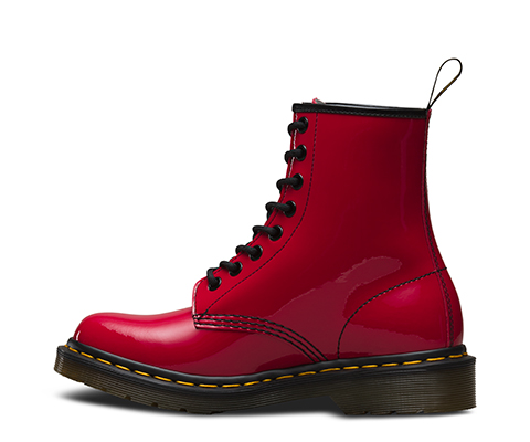 Women S 1460 Patent 1460 8 Eye Boots Official Dr