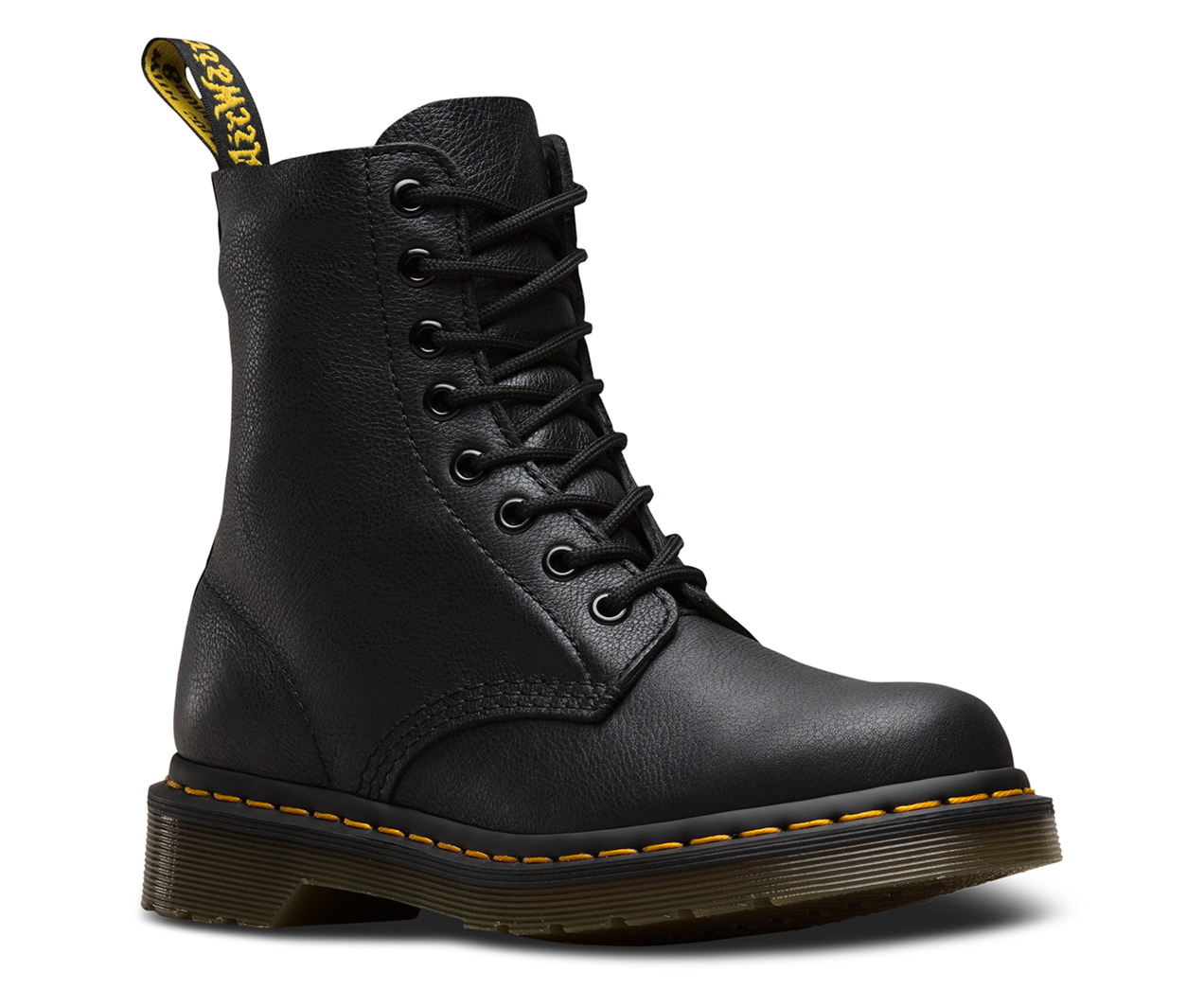 Dr. Martens 1460 PASCAL 8 EYE BOOT - Lace-up boots - dark brown virginia jYOr8Ufkj6