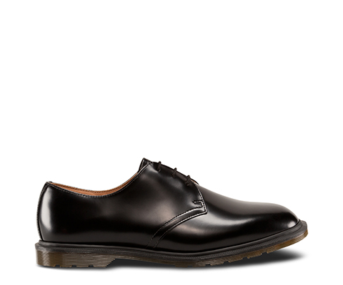 ARCHIE POLISHED SMOOTH. Made in. England. STEED BLACK 14348001. STEED BLACK  14348001