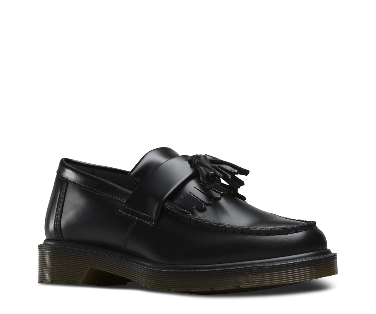 Dr.Martens Mens Adrian Black Leather Shoes 45 EU Dr. Martens Footlocker Finish Günstiger Preis hQBnP