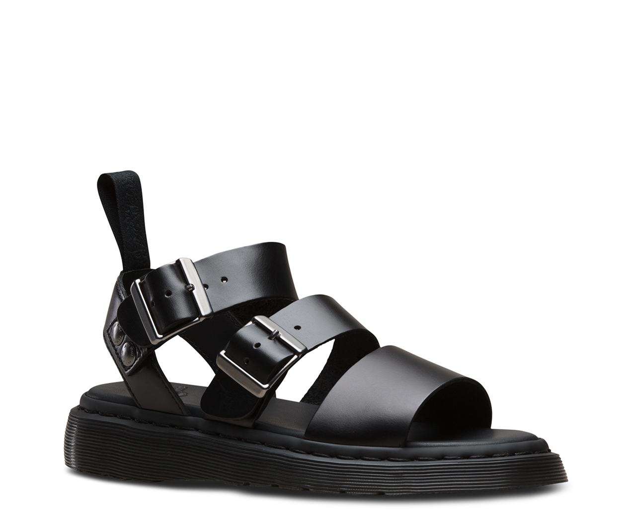 strappy sandals - Metallic Dr. Martens IsedXsvec