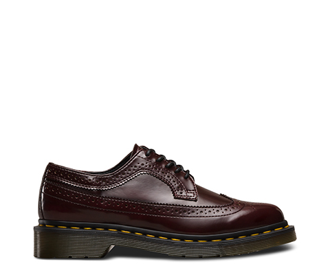 3989 Brogues In Cherry Red - Red Dr. 3989 Brogues En Rouge Cerise - Dr Rouge. Martens Martens mAtnuvCb