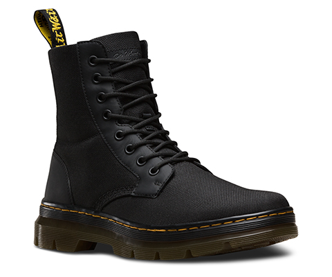 Dr Marten Yellow Black Shoes