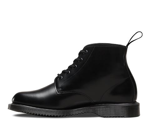 Emmeline Refined Lace Up Leather Boot - Black polished smoot Dr. Martens SHNiVxn