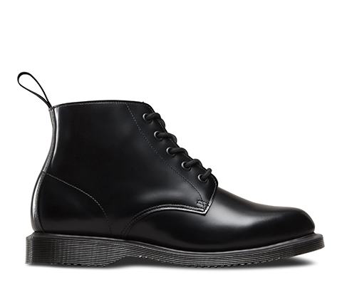 Cheap Websites Emmeline Refined Lace Up Leather Boot - Black polished smoot Dr. Martens Clearance Best Wholesale GV1tig