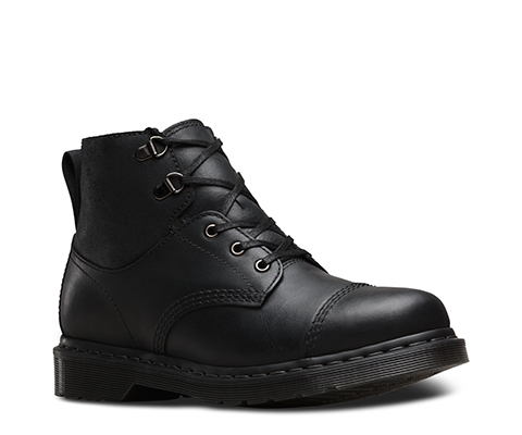 Dr Martens Shoes UK Store New Men's Dr Martens Chelston 6 Wyoming Leather Boots