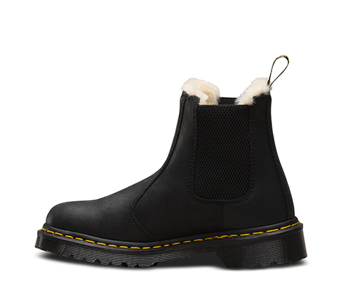 leonore fur lined women 39 s boots shoes official dr martens store uk. Black Bedroom Furniture Sets. Home Design Ideas