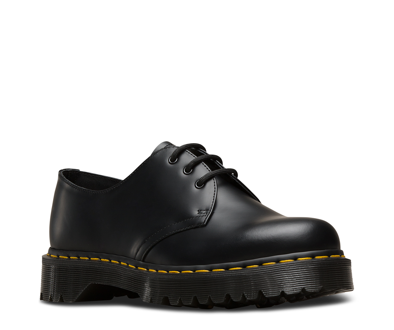Dr.Martens Men's 1461 Bex Smooth Oxford, Negro, 11 UK / 12 M EE. UU.