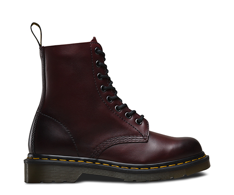 Dr. Martens 1461 Rouge Antique Temperly Chaussures De Sport Noir Rouge Noir cnRb0D67Mw