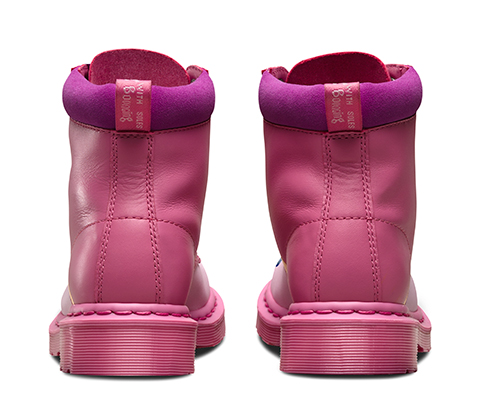 Dr. Martens 1461 - Zapatos de cuero para mujer, color rosa (blackcurrant), talla 36