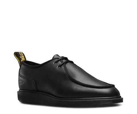 Size: 41 Eu / 8 Us / 7 Uk Dr.Martens Mens Leverton Softy T Black Leather Shoes 42 EU  Carb¨®n de le?a  color azul gHZWxyh0